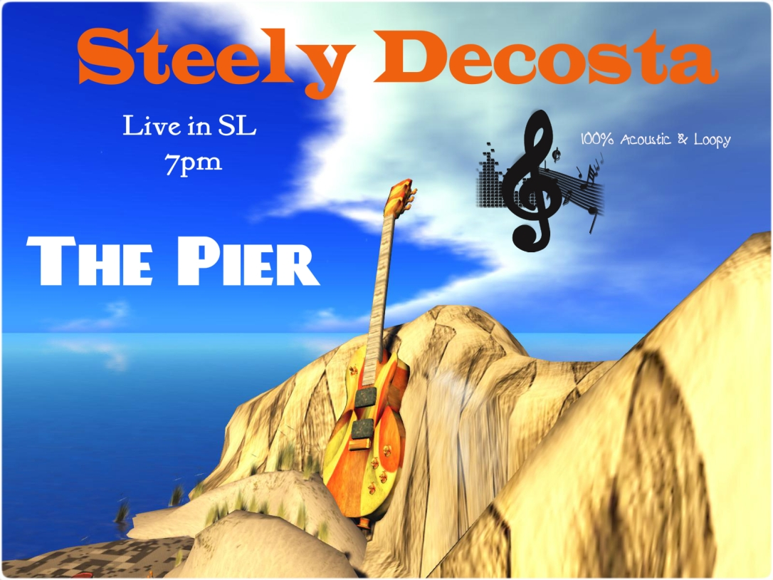 Steely Decosta live 7p slt/pst @ The Pier
